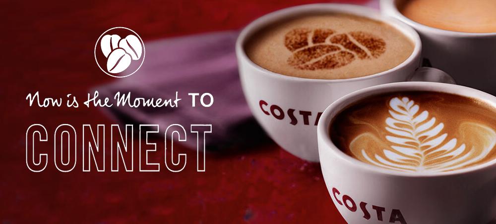 Banner Costa coffee